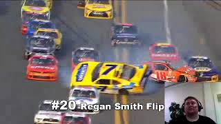"""Top 50 Most Memorable Moments of the 2015 NASCAR Season"" Reaction!!"