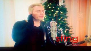 SNL Michael Buble and Sting Deck the Halls Saturday Night Live