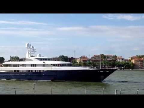 Archimedes The yacht Venice 31/07/2015 san Basilio (James Simons)