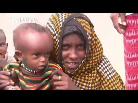 Ethiopia Drought: 'I worry my son will die all the time'