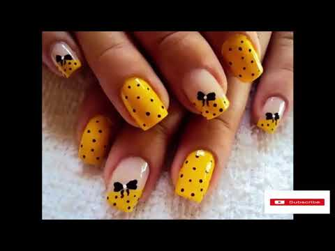Trending Nail Designs: Spring 2018 Nails Trends. - YouTube