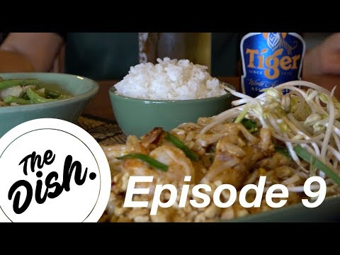 The Dish: Ban Thai's Green Chicken Curry and Pad Thai