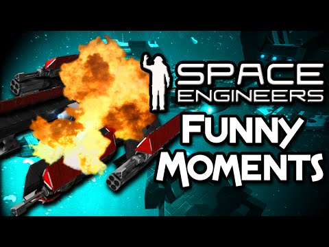 Space Engineers [Funny Moments] I THINK IT'S BROKEN A BIT