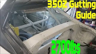 homepage tile video photo for Nissan 350Z Gutting Guide (2,700lbs)