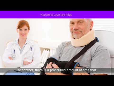 Citrus Heights Personal Injury Lawyer