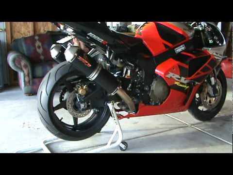Mufflers 4 Less >> 2003 rc51/ demon exhaust - YouTube