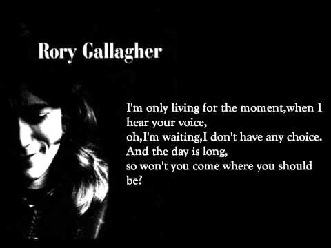 I fall apart - Rory Gallagher (lyrics on screen)