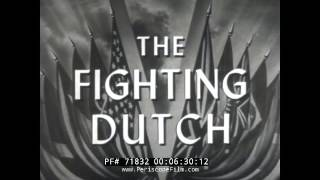STEAM LOCOMOTIVES JOIN THE ARMY, JAPANESE NEWSREEL, THE FIGHTING DUTCH, 71832
