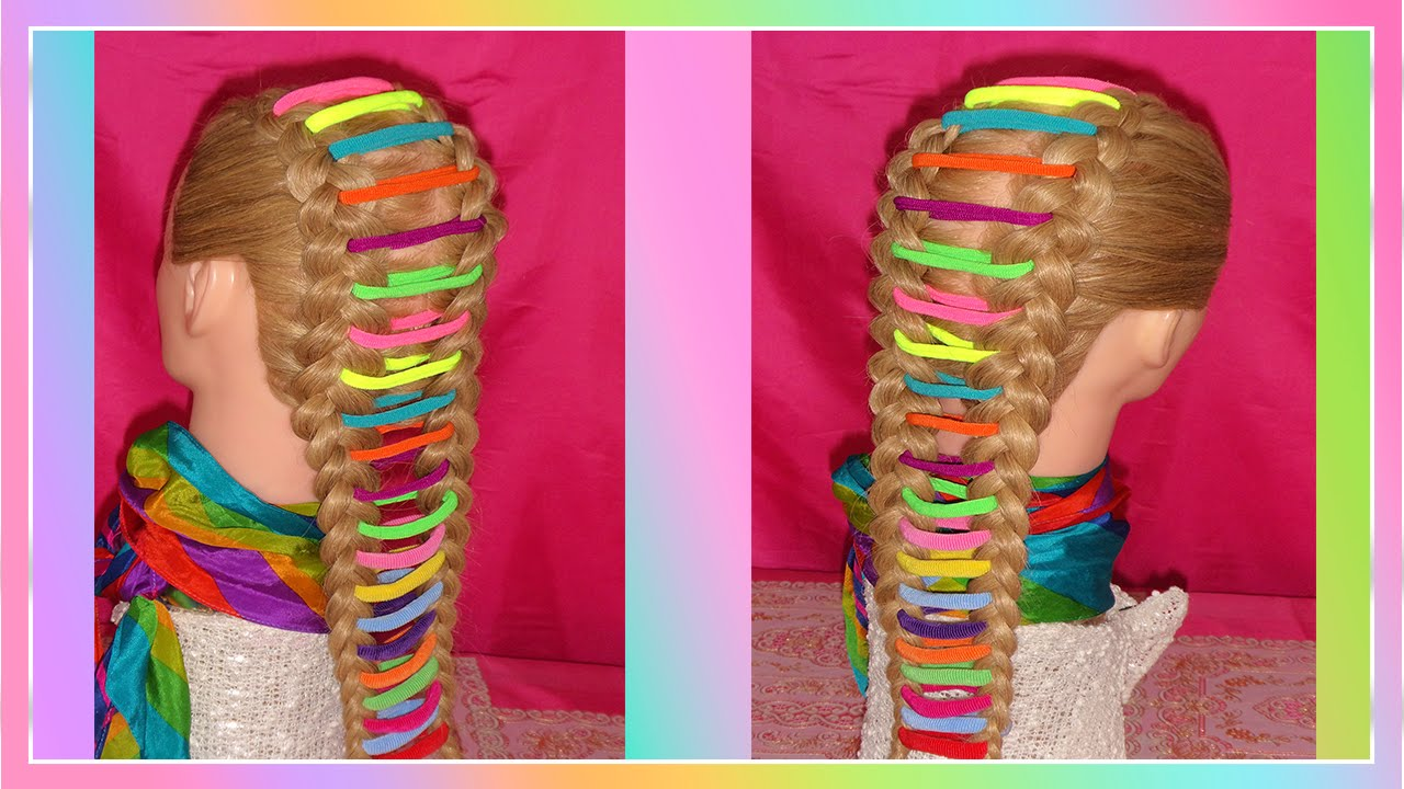 Trenza Arco 205 Ris Peinado Facil Para Escuela Peinado Para Ni 209 As Rainbow Braid Youtube