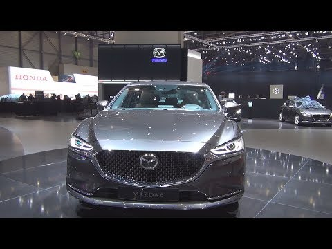Mazda 6 SkyActiv 2018 Exterior and Interior
