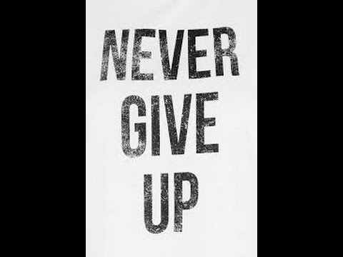 Never give up christian song