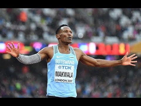 Isaac Makwala wins solo race and reaches 200m final at IAAF World Athletics Championships