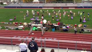 2012 Shikellamy Marching Braves before ACC