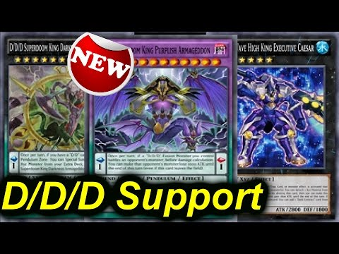 MORE New D/D/D SUPPORT!! New FUSION VOLCASAURUS 2.0!