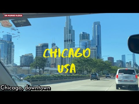 Beautiful Chicago Downtown | Vlog | United States | HD