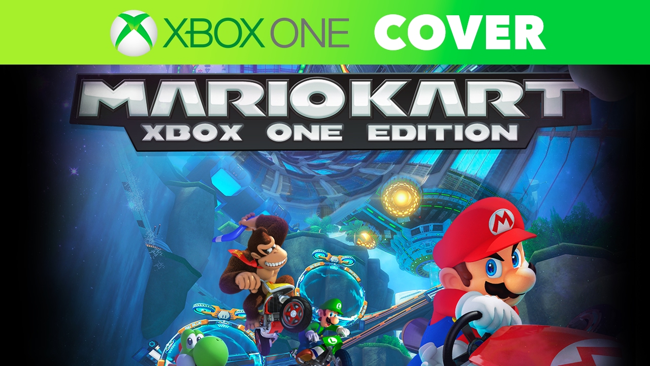 Mario Games For Xbox 1 : Mario kart xbox one edition speed art cover youtube