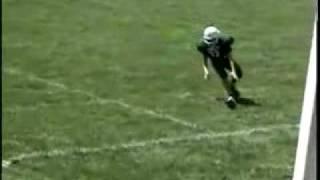 Huge 8th Grade Football Hit
