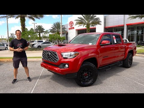 Is the 2020 Toyota Tacoma Predator the BEST looking midsize TRUCK?