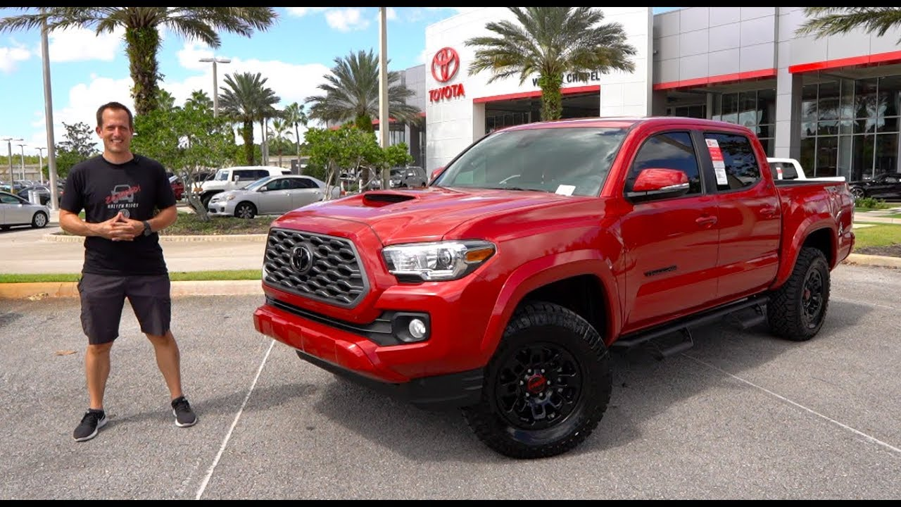 Is The 2020 Toyota Tacoma Predator The Best Looking Midsize Truck Youtube