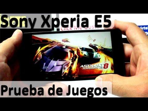 Sony Xperia E5 Prueba de Juegos - Smartphones de gama media