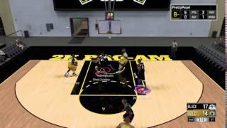 NBA 2K17 PrettyPearl Bron Chasedown Block