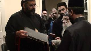 Consecration & Dedication of Dutchess St. Gregorios Church - 001 -Blessing of Foundation Stone(