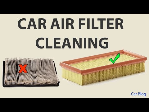 Car Air Filter Cleaning, Swift Air Filter Cleaning, How to clean car air filter