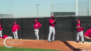 Aroldis Chapman's first day as a Red