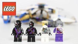 LEGO Ninjago NinjaCopter 70724 Review Unboxing