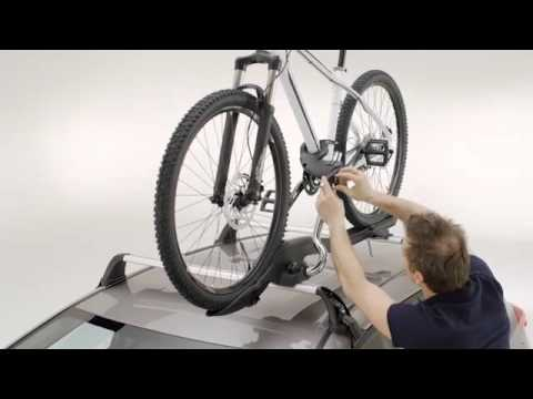 how to fit a bike rack to your toyota
