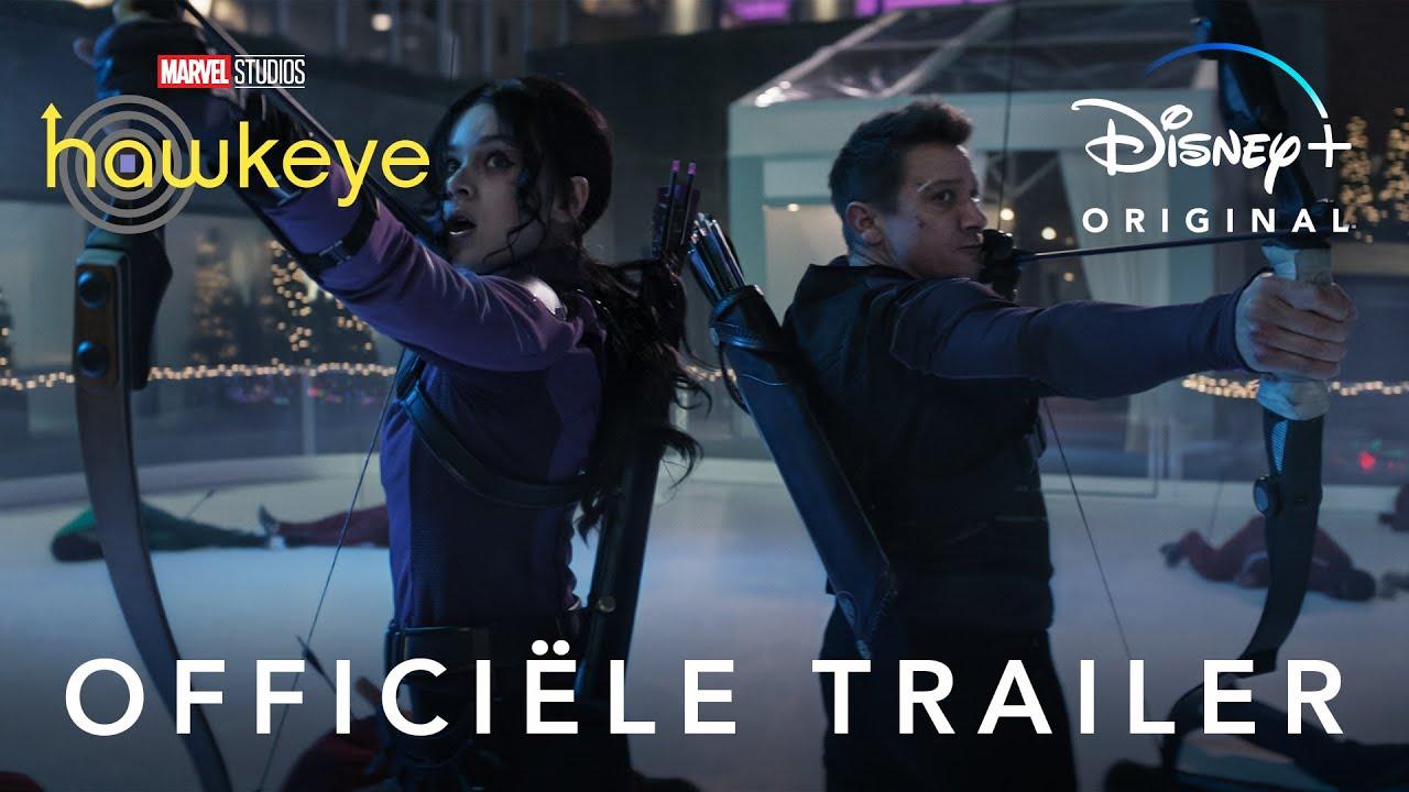 Hawkeye trailer op Disney Plus België