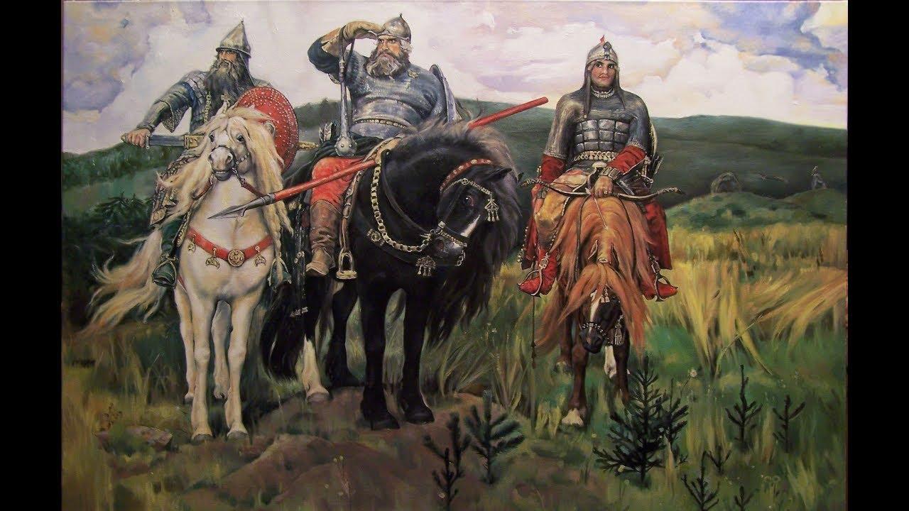 картина васнецова три богатыря описание надо будет еще