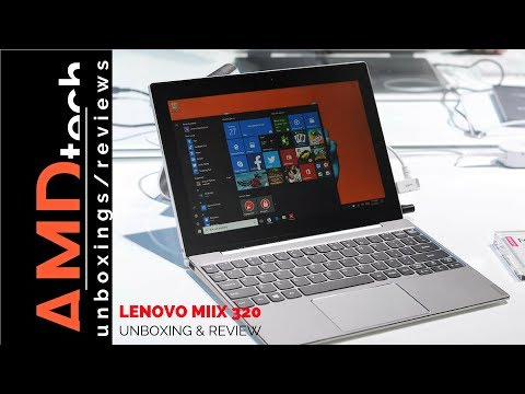 Lenovo Miix 320 Unboxing & Review:Great Back to School Budget 2-in-1 Laptop/Tablet