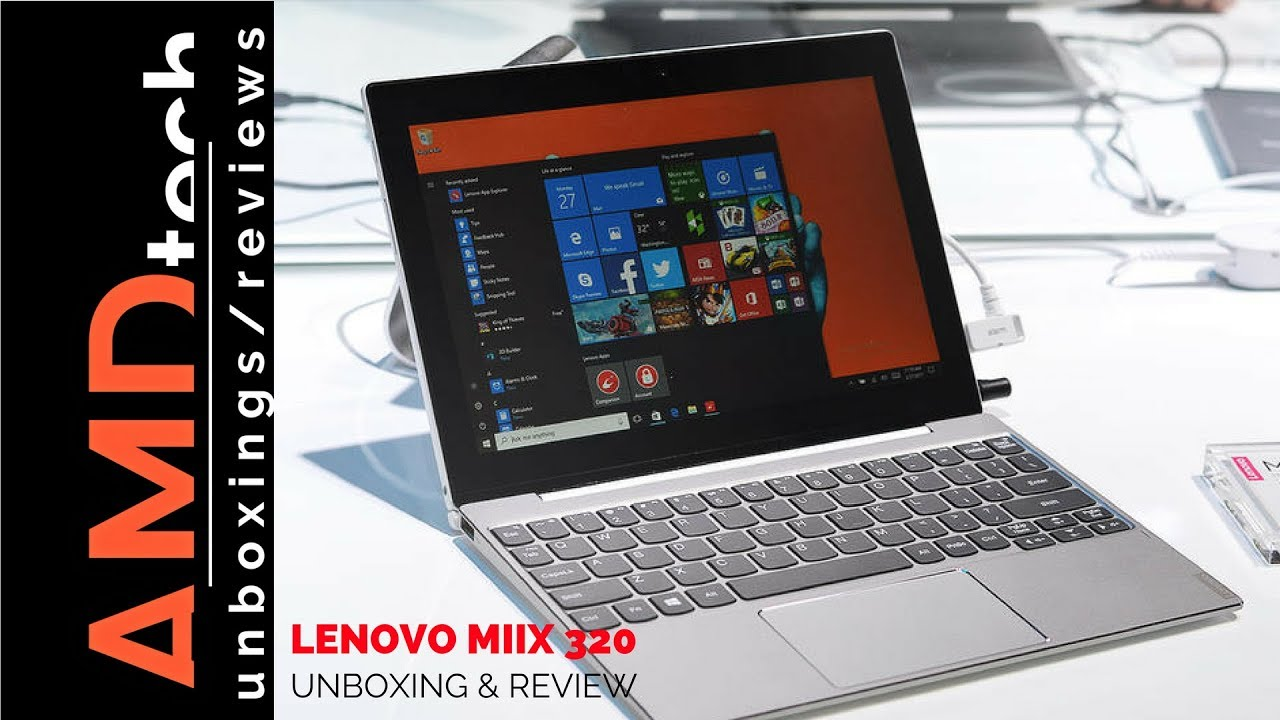 Lenovo Miix 320 Unboxing & Review:  Great Back to School Budget 2-in-1 Laptop/Tablet