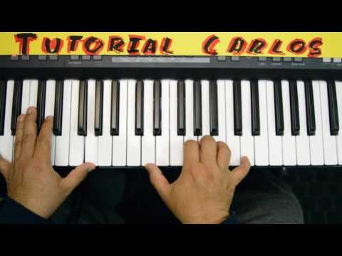 En el monte calvario Himno - Tutorial Piano Carlos