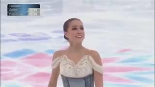 ザギトワ  ロシア選手権SP  Alina Zagitova   Russian Nationals 2018 アリーナ・ザギトワ 動画 28