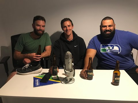 Between Two Beers Podcast: Episode 1 - Former All White Aaron Scott