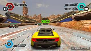 Cyberline Racing - Android Game - Gameplay