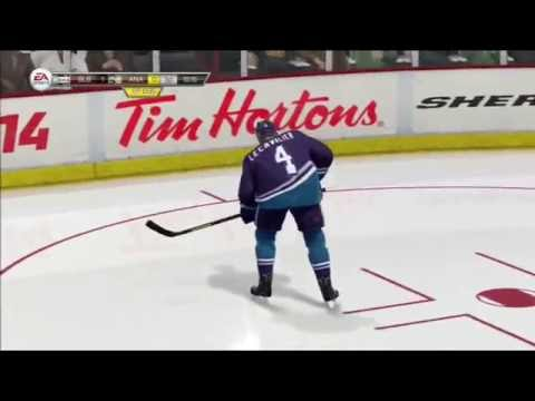 NHL 14 Trolling on Ice #13 - SET UP The ONE-T