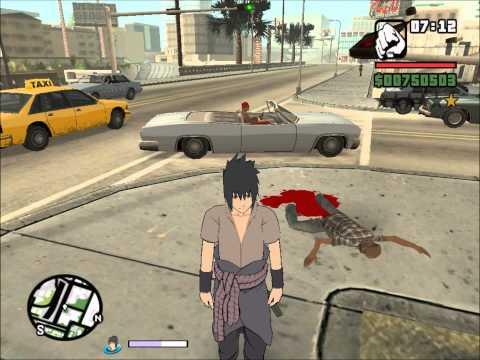Gta Sa Narutomod Game Play + Download Link