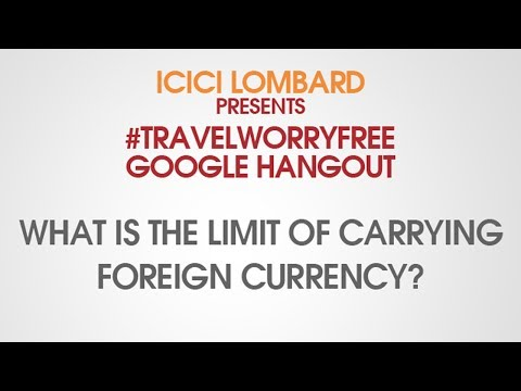 What is the limit of carrying foreign currency? : #TravelWorryFree