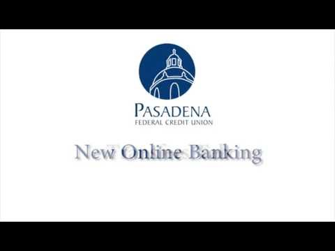 Pasadena FCU Online Banking Overview: Transfers Tab