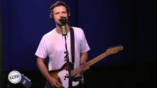 "White Lies performing ""First Time Caller"" Live on KCRW"