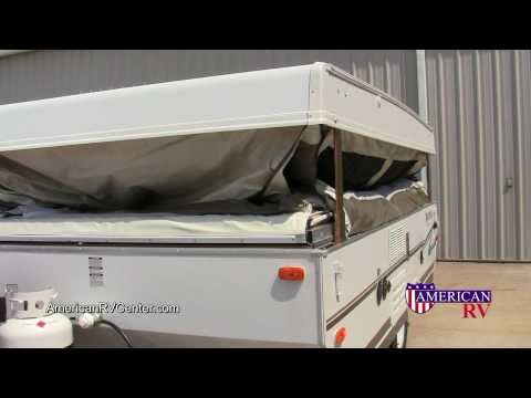 Popup FoldingTent Camper Setup and Use Walkthrough Demonstration  American RV Center