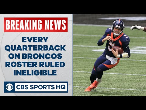 Denver has a MASSIVE problem under center with every QB ruled ineligible for week 12  CBS Sports HQ