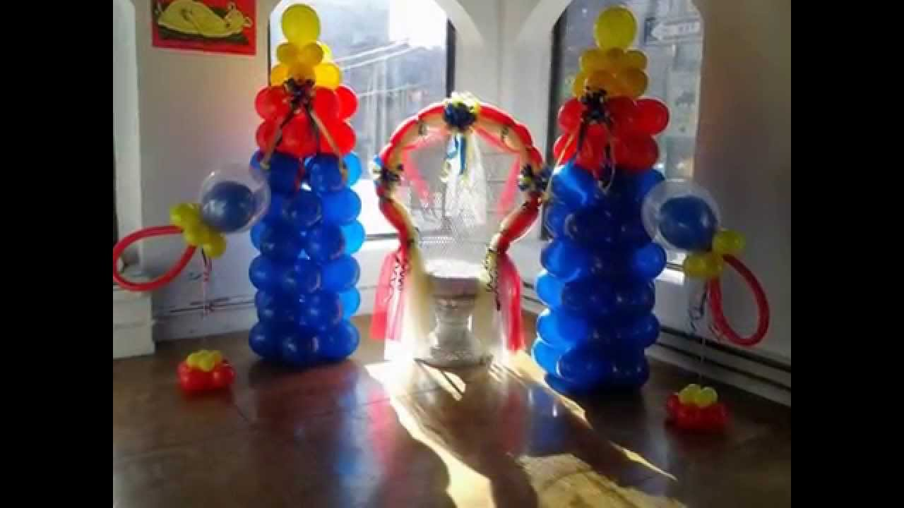 Baby shower chair - Festiveaffairsny Balloon Decorations Baby Shower Chair Rental