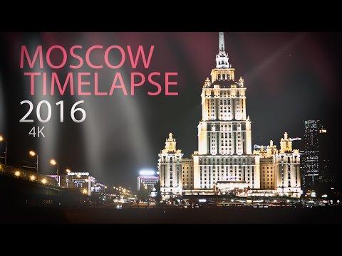 Hello Moscow! (Timelapse / Hyperlapse) 4K