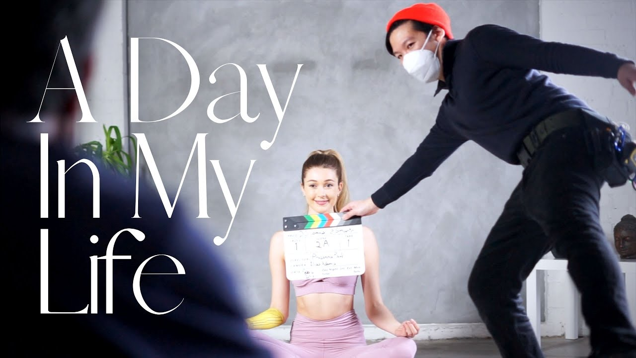 A Day In My Life As An Actor | Filming A Commercial + Wellness Tips | Vlog Charlot Daysh