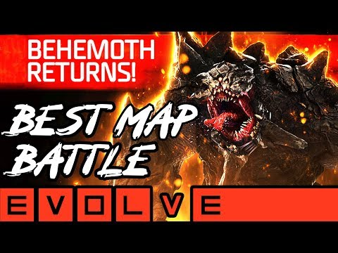 BEST MAP IN EVOLVE?! Evolve Gameplay Xbox One / PS4 (NEW EVOLVE 2019 Monster Gameplay)