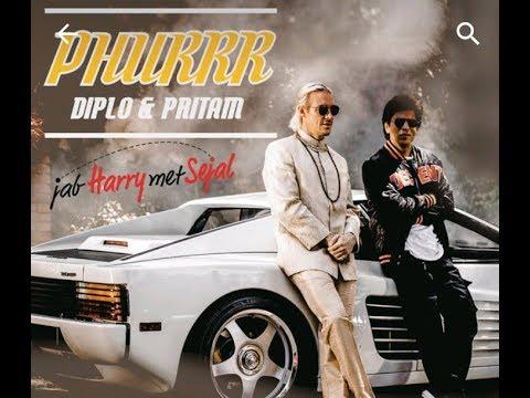 Phurr Full Official Video | Jab Harry Met Sejal | Shahrukh Khan | Diplo | Pritam |